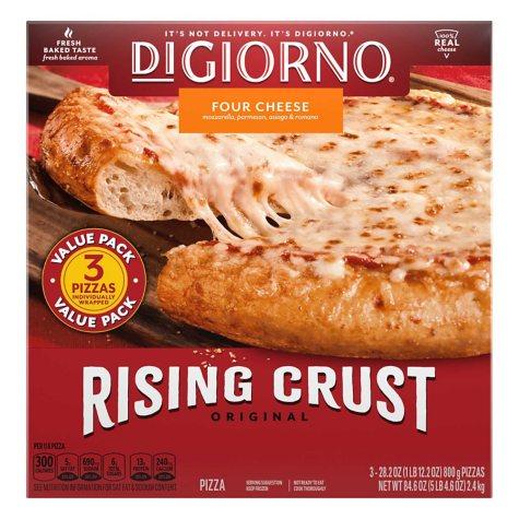 DiGiorno Rising Crust Four Cheese Pizza (28.2 oz., 3 pk.)
