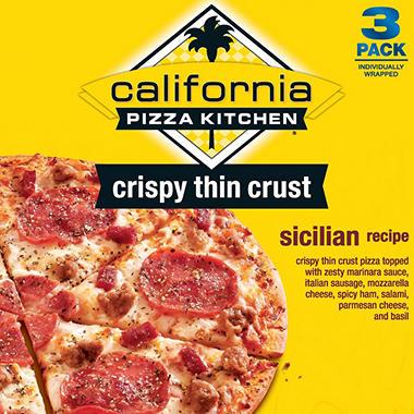 California Pizza Kitchen Sicilian Pizza - 3 pk. - Sam\'s Club