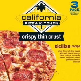 California Pizza Kitchen Sicilian Pizza - 3 pk. - Sam's Club
