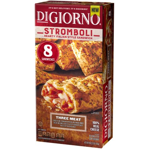DiGiorno Three Meat Stromboli Italian-Style Sandwich (8 ct.)