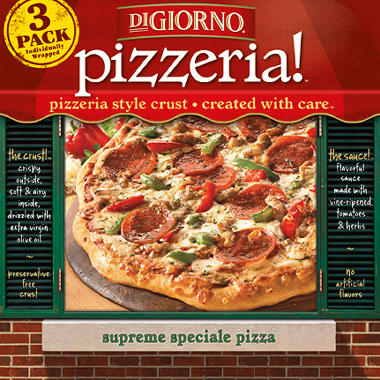 DiGiorno Pizzeria Supreme Speciale Pizza (21.3 oz. box, 3 pk.)