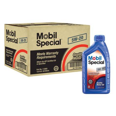 Mobil Special 5W-20 Motor Oil (12 pk., 1-qt. bottles)