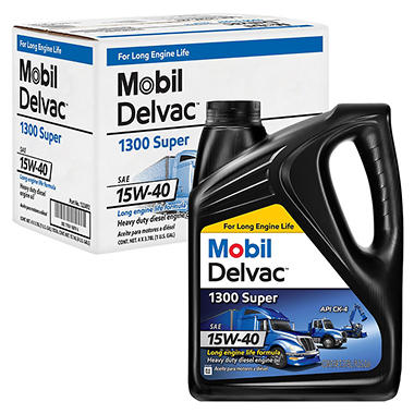 Mobil Delvac Diesel Engine Oil