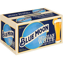 Blue Moon Belgian White Ale (12 oz. bottles, 24 pk.)