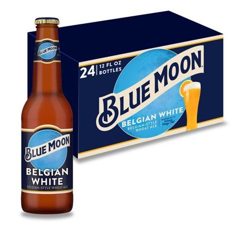 BLUE MOON BW 24 / 12 OZ BOTTLES