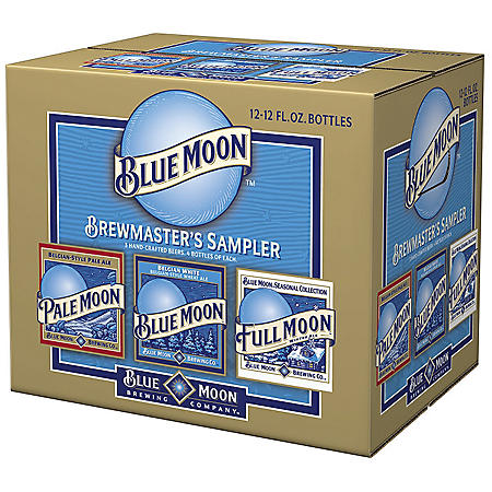 BLUE MOON VARIETY 24 / 12 OZ BOTTLES
