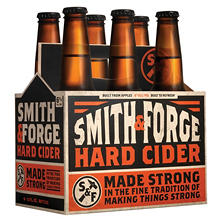 Smith & Forge Hard Cider (12 fl. oz. bottle, 6 pk.)