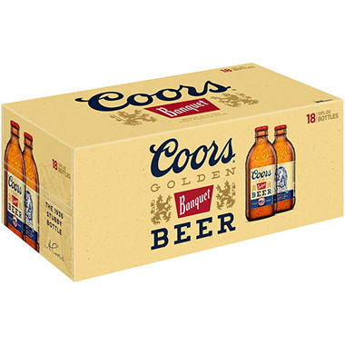 Coors Banquet Beer (12 fl. oz. bottle, 18 pk.)
