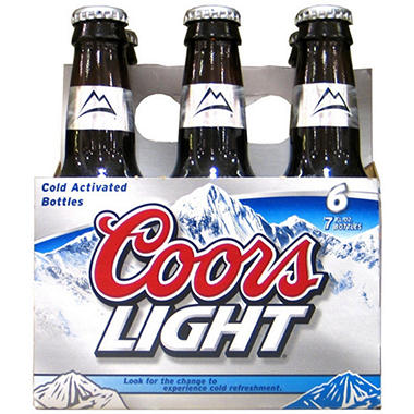 Coors Light (7 fl. oz. bottles, 24 pk.)