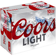 Coors Light Beer (10 fl. oz. can, 24 pk.)