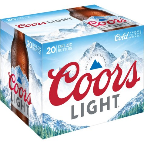 Coors Light Beer (12 fl. oz. bottle, 20 pk.)