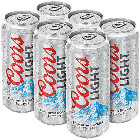 COORS LIGHT 24 / 16 OZ CANS