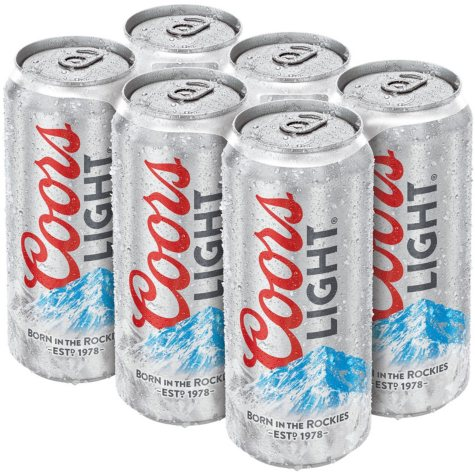 Coors Light (12 fl. oz. can, 24 pk.)