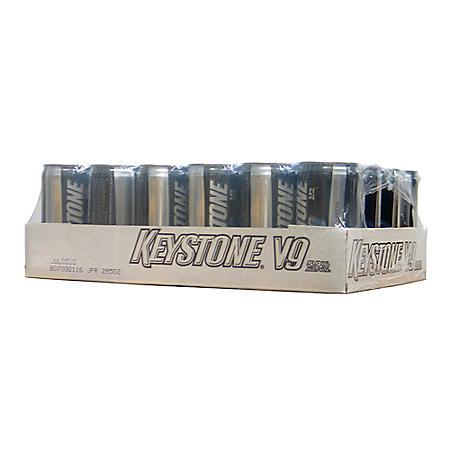 Keystone V9 (10 fl. oz. can, 24 pk.)