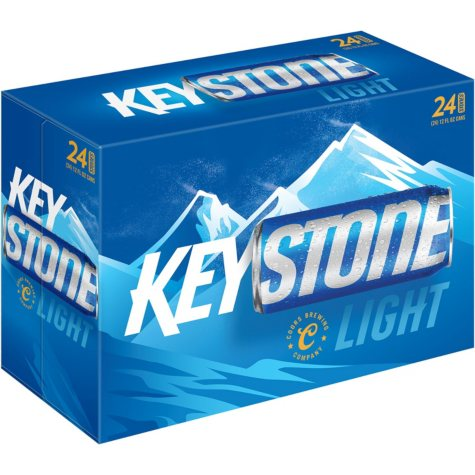 KEYSTONE LIGHT 24 / 12 OZ CANS