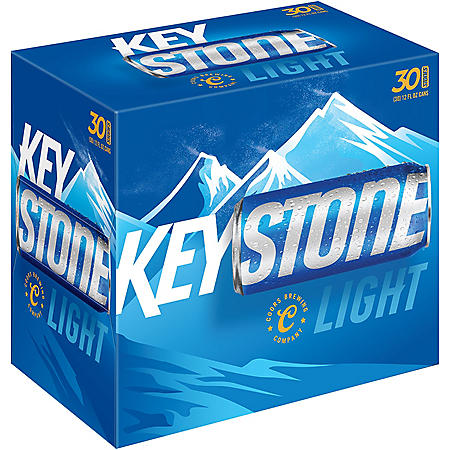 Keystone Light (12 fl. oz. can, 30 pk.)