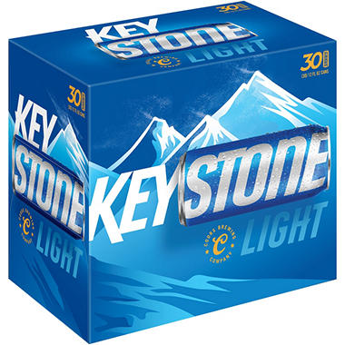 KEYSTONE LIGHT 30 / 12 OZ CANS