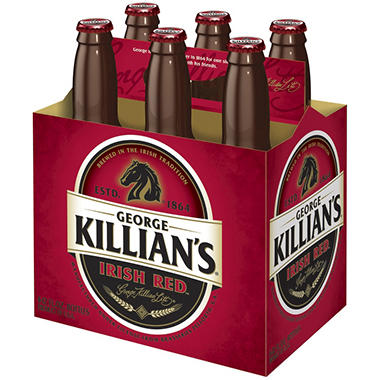 KILLIANS IRISH RED 6 / 12 OZ BOTTLES