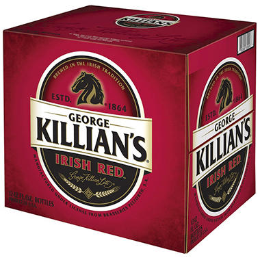 KILLIANS IRISH RED 12 / 12 OZ BOTTLES
