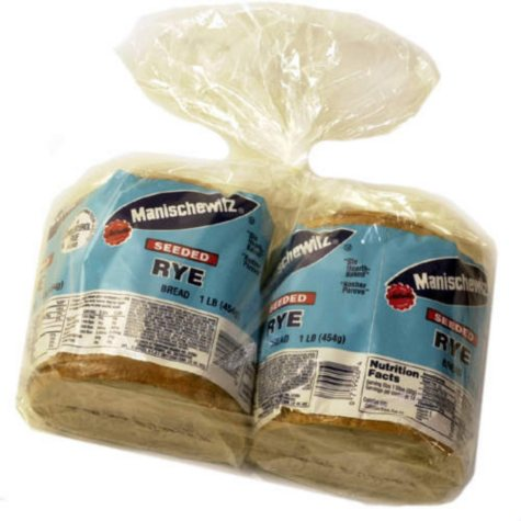 Manischewitz Seeded Rye Bread (16 oz. loaf, 2 pk.)