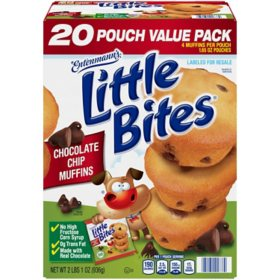 Entenmanns Little Bites Chocolate Chip Muffins 20 Ct