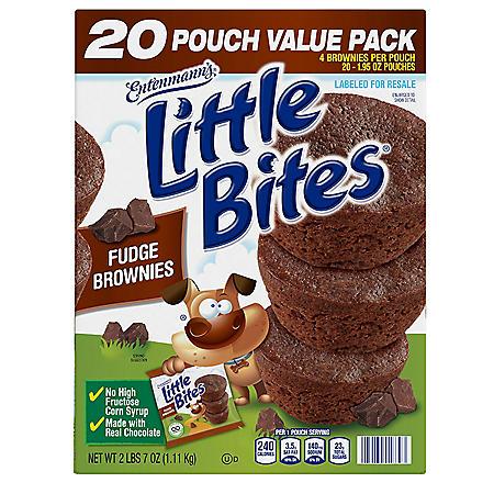 Entenmann's Little Bites Fudge Brownies (1.95oz / 20pk)