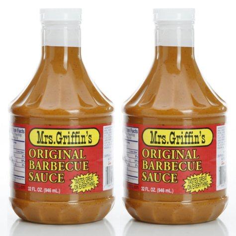 Mrs. Griffin's Original BBQ Sauce - 32 oz. - 2 pk.