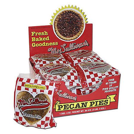 Mrs. Sullivan's Pecan Pies - 12/3 oz. pies