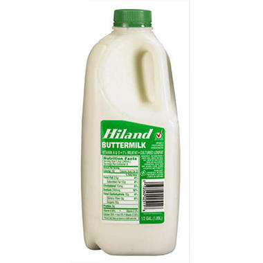 Hiland Cultured Low Fat Buttermilk (1/2 gal.)