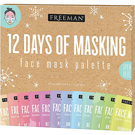 Freeman 12 Days of Masking Holiday Face Mask Kit (12 ct.)