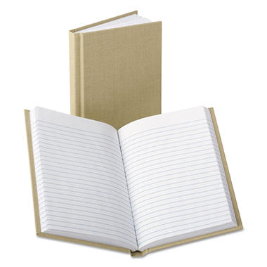 Boorum & Pease - Handy Size Bound Memo Book, Ruled, 4-3/8 x 7, WE -  96 Sheets/Pad
