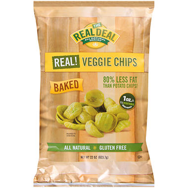 The Real Deal All Natural Snacks™ Real Veggie Chips - 22 oz.