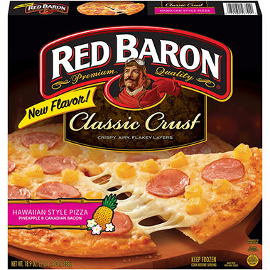 Red Baron Hawaiian Style Pizza - 52.24 oz. - 2 pk.