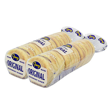 Franz Original English Muffins (10 ct., 2 pk.)