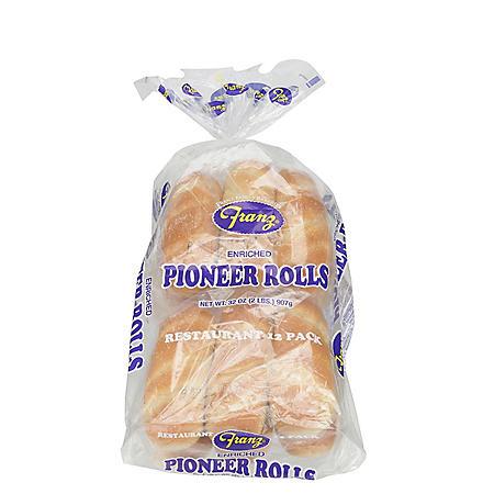 Franz Pioneer Rolls (12 ct., 32 oz.)