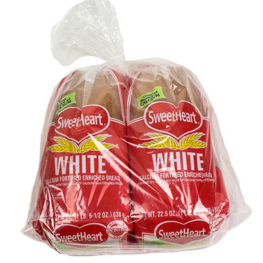 Montana's Sweetheart White Bread (2 pk., 45 oz.)
