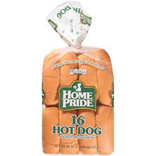 Home Pride Hot Dog Buns (16 ct.)