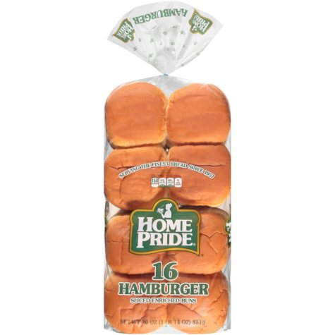 Home Pride Hamburger Buns (16 ct.)