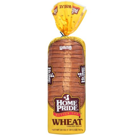 Home Pride Butter Top Wheat Bread (2 loaves)