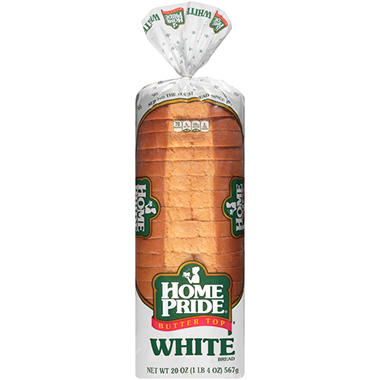 Home Pride Butter Top White Bread (20 oz. loaf, 2 ct.)