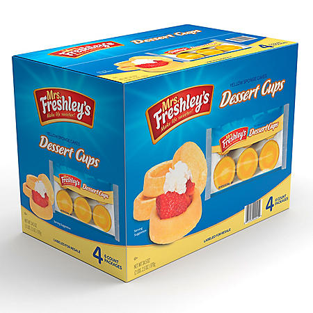 Mrs. Freshley's Dessert Cups (8.63 oz., 4 pk.)