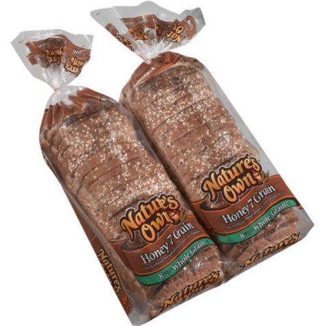 Nature's Own Honey 7 Grain Bread (20 oz., 2 pk.)