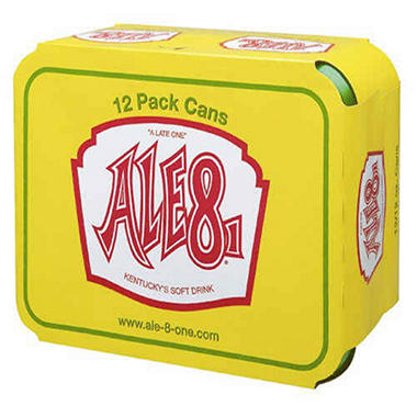 Ale 8 One (12 oz. cans, 4/6 pk.)