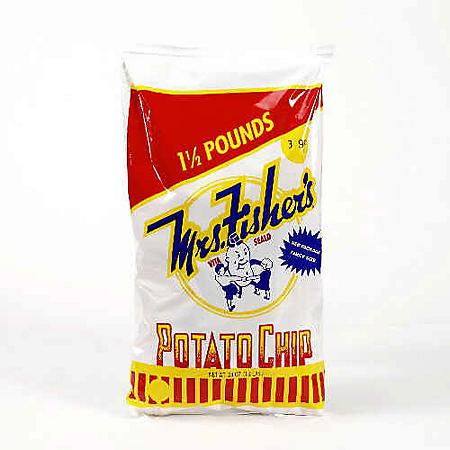 Mrs. Fisher's Potato Chips - 24 oz.