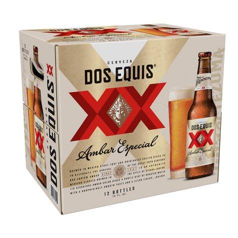 XOFFLINE+DOS EQUIS  AMBER 12 / 12 OZ BOTTLES
