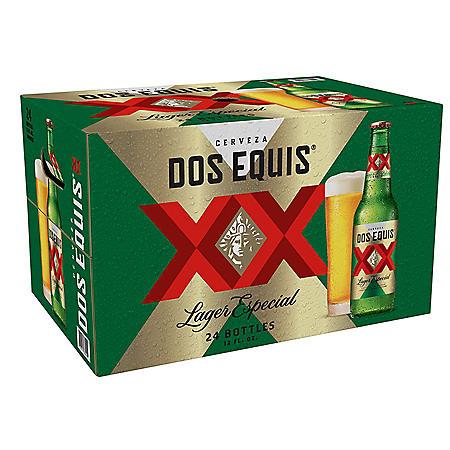 Dos Equis Lager Especial (12 fl. oz. bottle, 24 pk.)