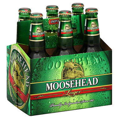 MOOSEHEAD 6 /  12 OZ BOTTLES