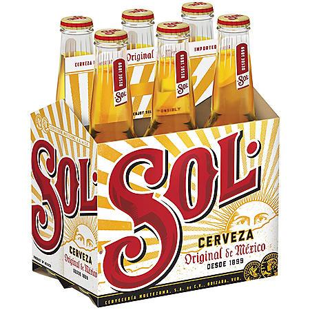 SOL 6 / 12 OZ BOTTLES