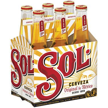 Sol Imported Beer (12 fl. oz. bottle, 6 pk.)
