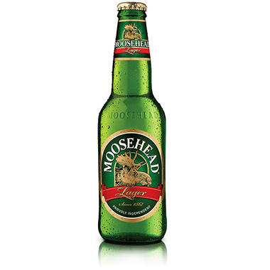 Moosehead Lager Beer (12 fl. oz. bottle, 12 pk.)